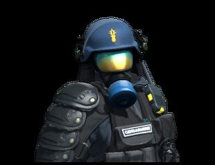 Chem-Haz Capitaine | Gendarmerie Nationale