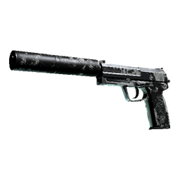 USP-S   Whiteout (Battle-Scarred)