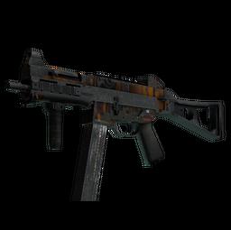 StatTrak™ UMP-45 | Oscillator (Battle-Scarred)