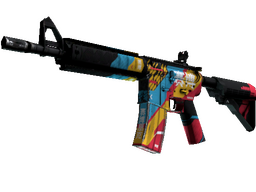 M4A4 | Cyber Security (Field-Tested)