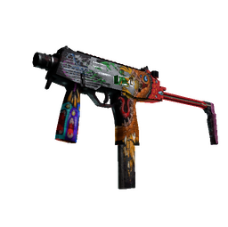 StatTrak™ MP9 | Food Chain (Battle-Scarred)
