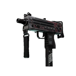 StatTrak™ MAC-10 | Button Masher (Battle-Scarred)