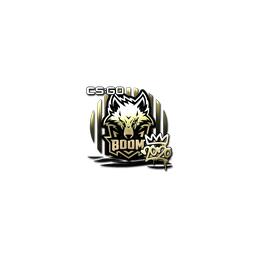 Sticker | Boom (Gold) | 2020 RMR