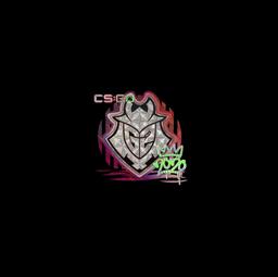 Sticker | G2 (Holo) | 2020 RMR