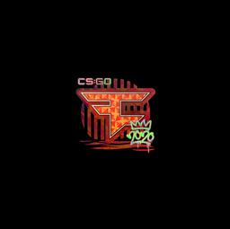 Sticker | FaZe (Holo) | 2020 RMR