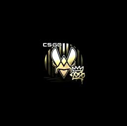 Sticker | Vitality (Gold) | 2020 RMR