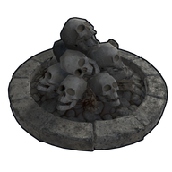 Steam Community Market Listings For Skull Fire Pit
