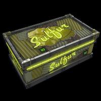 Rust Neon Sulfur Storage Skin