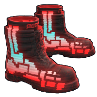 Rust Corrupted Boots Skin