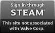 Log in via Steam
